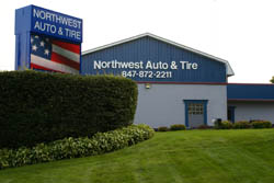 Northwest Auto & Tire Shop Front
